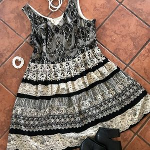 Lace Dress by PaperDoll